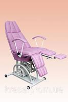 Кресло педикюрное КП-3 с гидравлическим регулятором высоты