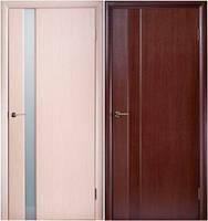 Двери шпонированные Глазго-1,2 венге, беленый дуб