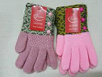 M Детские зимние перчатки шерстяные с начосом Douhia