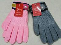 Детские зимние перчатки шерстяные с начосом Douhia M