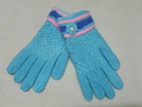 Детские зимние перчатки шерстяные с начосом Douhia S