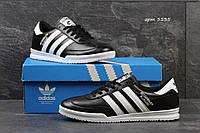 Кожаные кроссовки Adidas Beckenbauer Allround, мужские, черно белые