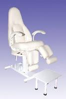 Педикюрное кресло КП-5 с гидравлическим регулятором высоты
