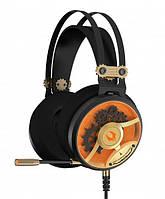 Наушники и микрофоны A4 Tech M660 Bloody MOCI Golden+Orange