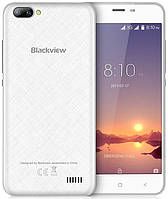 "Blackview A7 white 1/8 Gb, 5"", MT6580A, 3G, фото 1"