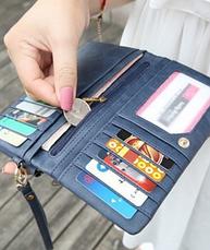 Роскошный женский  кошелек  клатч портмоне, фото 3