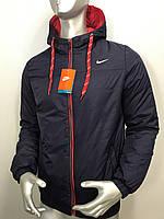Мужская куртка Nike из плащевки утепленная
