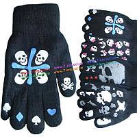 Перчатки для мальчиков ZinC-42 начес 12 шт (10-15 лет)