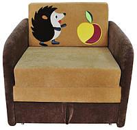 Раскладной диванчик малютка с бортиками Ёжик