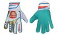 Перчатки вратарские подростковые ARSENAL FB-0029-10 (PVC, р-р 6, 7, 8, синий-красный)