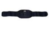 Пояс с термоэлементом Махровая ткань SOLEX BNS-140E-B (р-р 95*17-27см, цвет темно-синий)