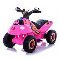 Детский толокар- мотоцикл BAMBI M 3558E-8 розовый