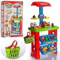 Детский магазин 661-79 с корзинкой kk, ri, hn