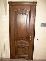Двери межкомнатные деревянные Венеция декор