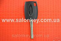 Ключ Ford kuga, fiesta, mondeo, fusion с местом под чип Лезвие HU101 Среднего качества