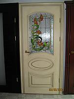 Двери межкомнатные деревянные Оливия