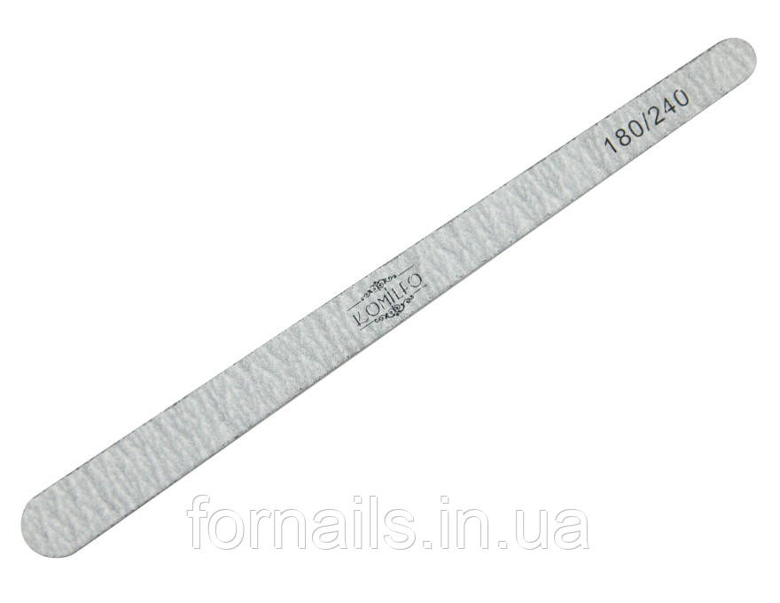 Пилочка Komilfo деревянная капля 180/240, 16,5 см