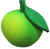 Карнавальная маска из поролона Яблоко зеленое