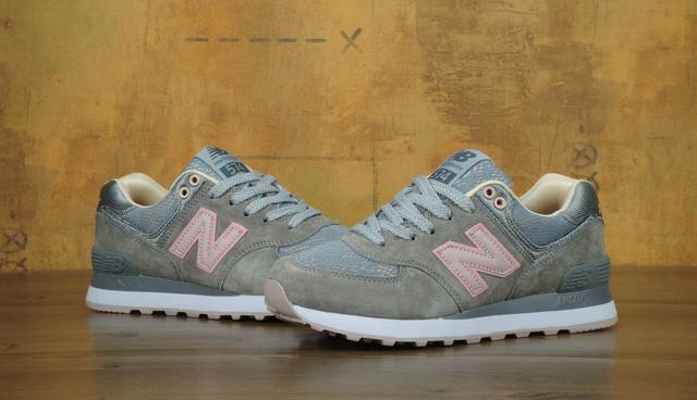 New Balance 574 Grey Pink