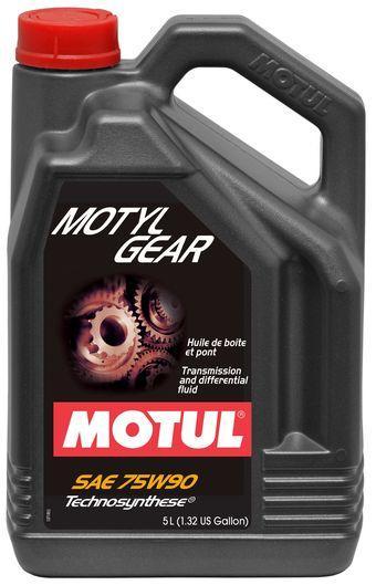 Трансмиссионное масло 75W-90 (5л.) MOTUL Motylgear