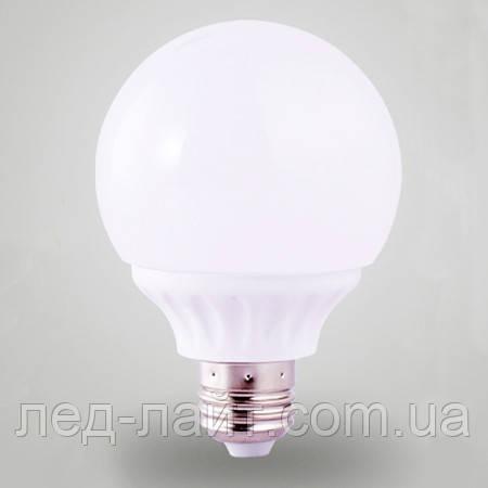 Лампа светодиодная RGB Е27 12Вт 220В