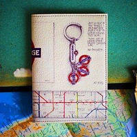 Обложка для паспорта Проездной в подземку