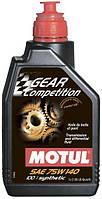 Трансмиссионное масло 75W-140 (1л.) MOTUL Gear Competition