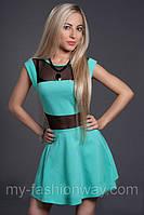Молодежное женское платье, цвета в ассортименте