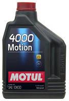 Минеральное моторное масло 10W-30 (2л.) MOTUL 4000 Motion