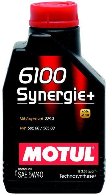 Моторное масло 5W-40 (1л.) MOTUL 6100 Synergie+