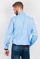 Рубашка мужская классический фасон 333F006 (Голубой)