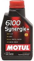Моторное масло 5W-30 (1л.) MOTUL 6100 Synergie+