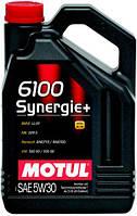 Моторное масло 5W-30 (4л.) MOTUL 6100 Synergie+