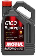 Моторное масло 10W-40 (5л.) MOTUL 6100 Synergie+