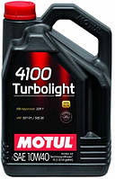 Моторное масло 10W-40 (4л.) MOTUL 4100 Turbolight