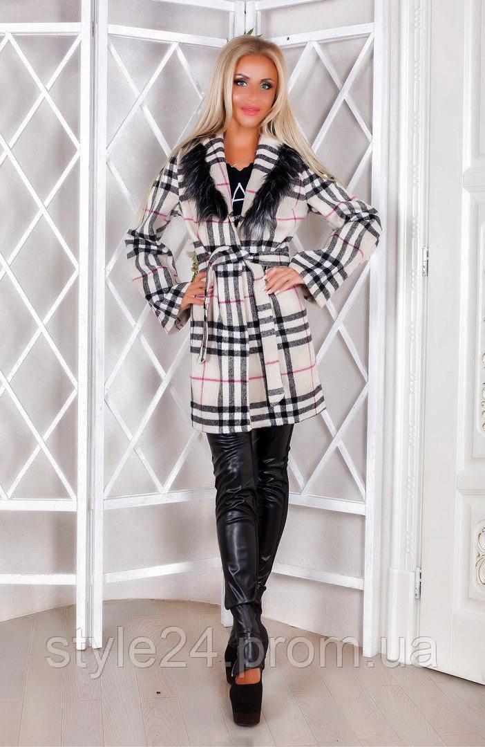 Жіночий кашеміровий кардиган з мехом та поясом.Р-ри 42-46  продажа ... c8d3655e53226
