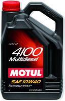 Моторное масло 10W-40 (5л.) MOTUL 4100 Multidiesel