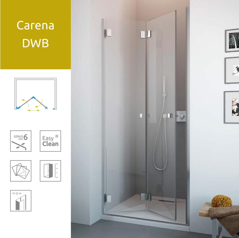 Душевые двери Radaway Carena DWB