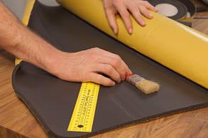 Монтаж листовой каучуковой изоляции