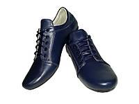 Туфли женские Ника натуральная кожа на шнуровке