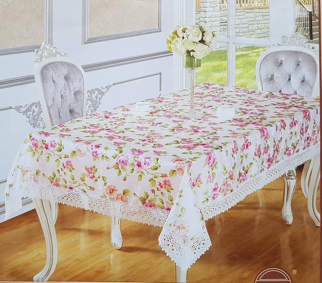 картинка кухонная скатерть с цветами