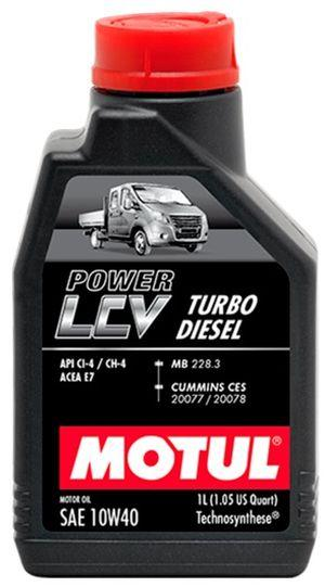 Моторное масло 10W-40 (1л.)MOTUL POWER LCV TURBO DIESEL