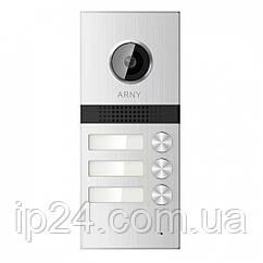 Вызывная видеопанель Arny AVP-NG523 на 3 квартиры