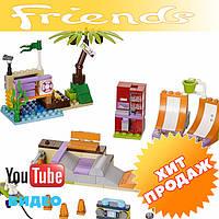Конструктор лего френдс Bela Friends 10491 Скейт-парк (аналог LEGO Friends 41099) 202 дет