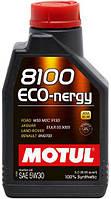 Моторное масло 5W-30 (1л.)MOTUL 8100 Eco-nergy