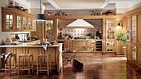 Кухня в коричневых тонах в стиле канри