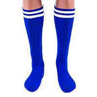 Гетры футбольные подростковые N022 (синие)