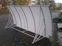 Козырек для балкона поликарбонат