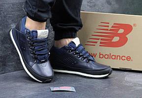 Чоловічі  осінні   кросівки  New Balance H-754 - темно-сині