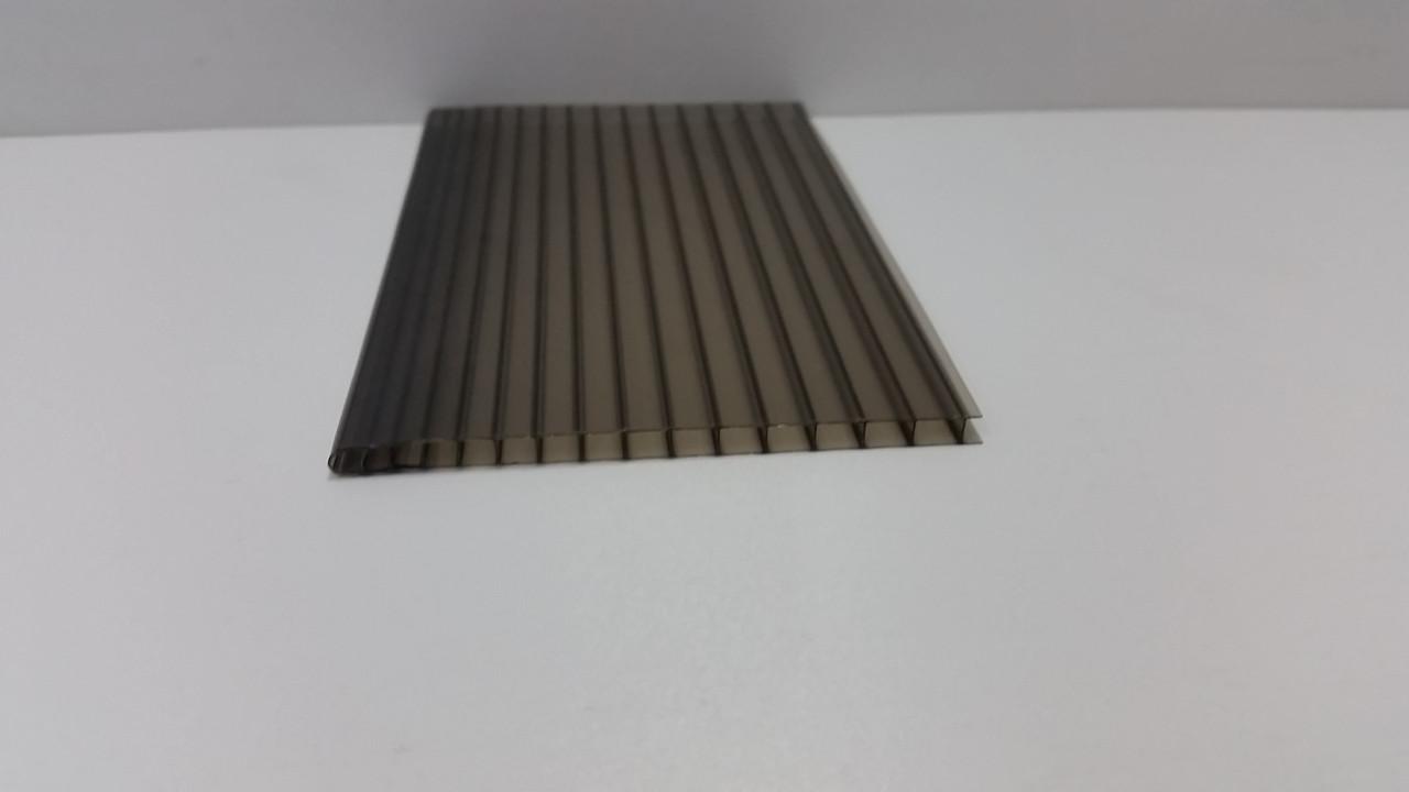 Сотовый поликарбонат 4мм бронза, фото 1